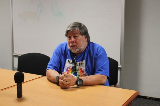 Steve Wozniak speaks to Open Apple
