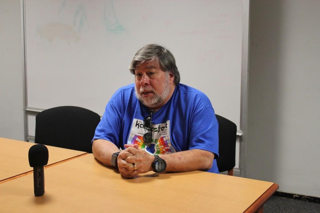 Video: Speaking with Steve Wozniak at KansasFest 2013